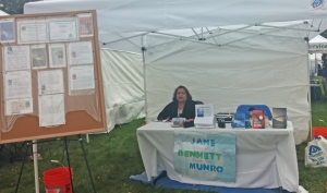 Lita in my booth at Thousand Springs 2014