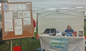 me in my booth at Thousand Springs 2014